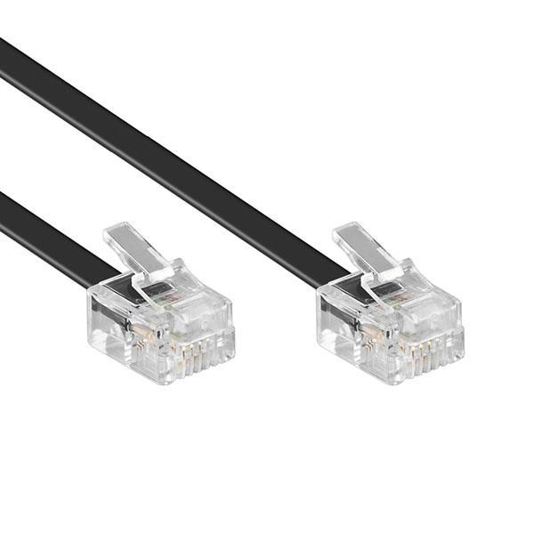 IN 6P4C 전화선 케이블 5M
