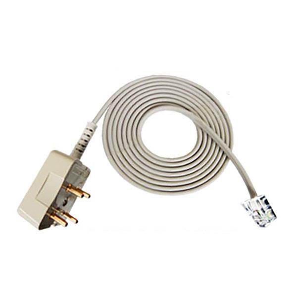 IN 6P2C L코드 전화 케이블 5M