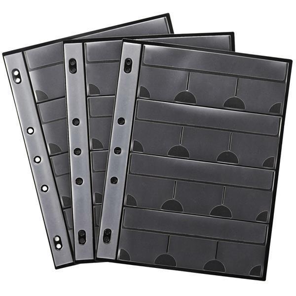 파일형 메모리카드 케이스 속지 36매 FC-MMC8BK전용