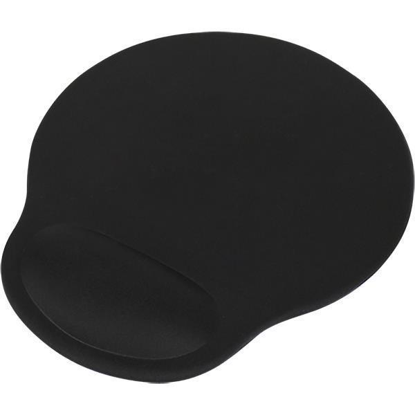 손목보호 젤 마우스패드 사무용 미끄럼방지 블랙