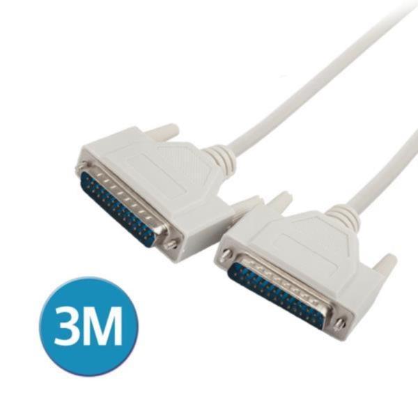 공유기 케이블 25핀 (M/M), 3M