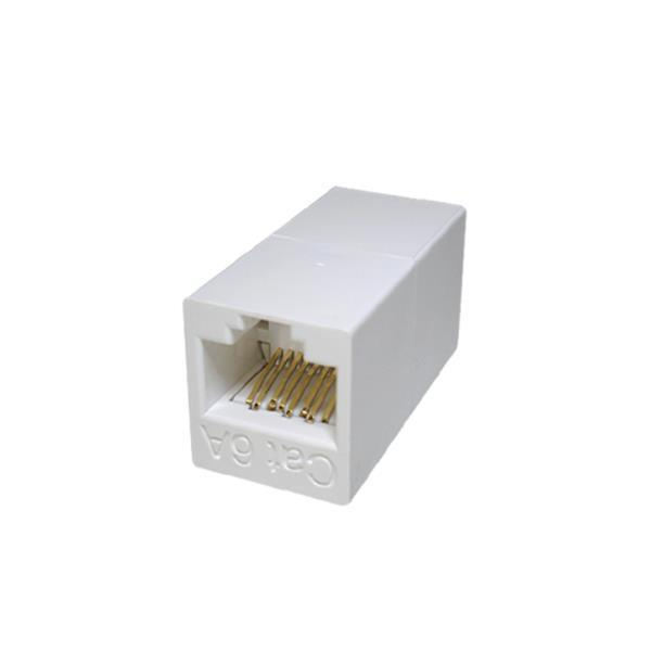 CAT.6A UTP 고급형 커플러 인터넷 연결 화이트