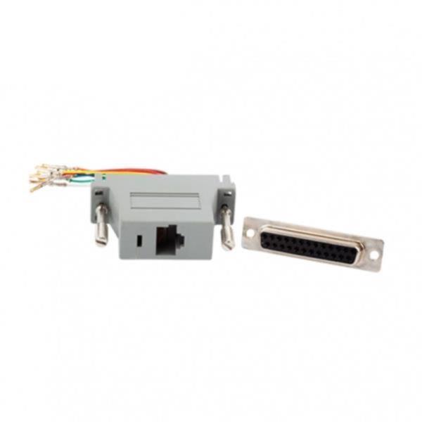 RJ45(F)-DB25(F) 변환 콘넥터