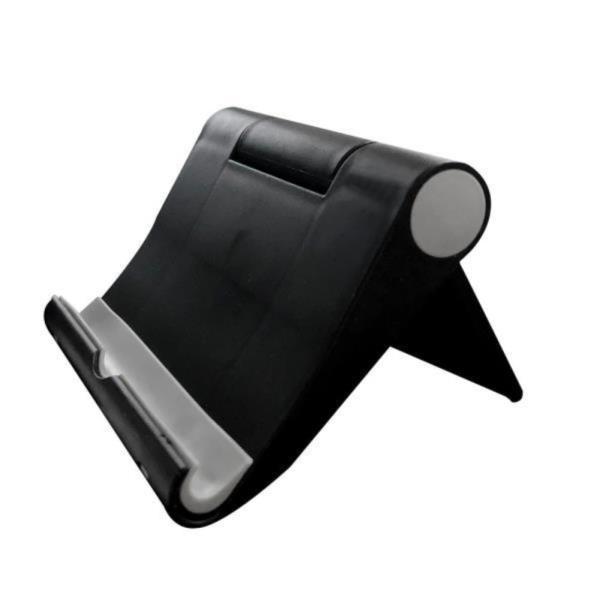 스마트폰거치대 스마트폰 거치대 블랙 탁상용 핸드폰 태블릿 스탠드
