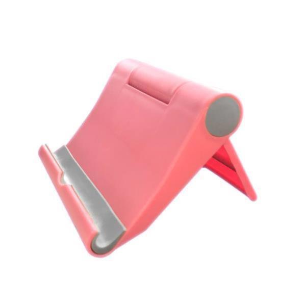 스마트폰거치대 스마트폰 거치대 핑크 탁상용 핸드폰 태블릿 스탠드