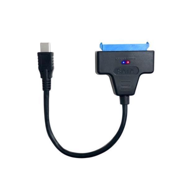 USB C타입 to SATA3 2.5 SSD 외장하드케이블 변환젠더