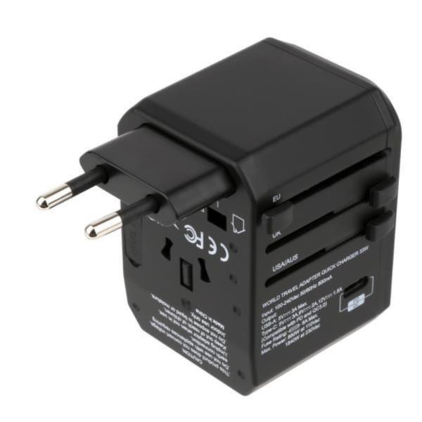 여행용 멀티 플러그 올인원 USB 컬퀌3.0 고속충전