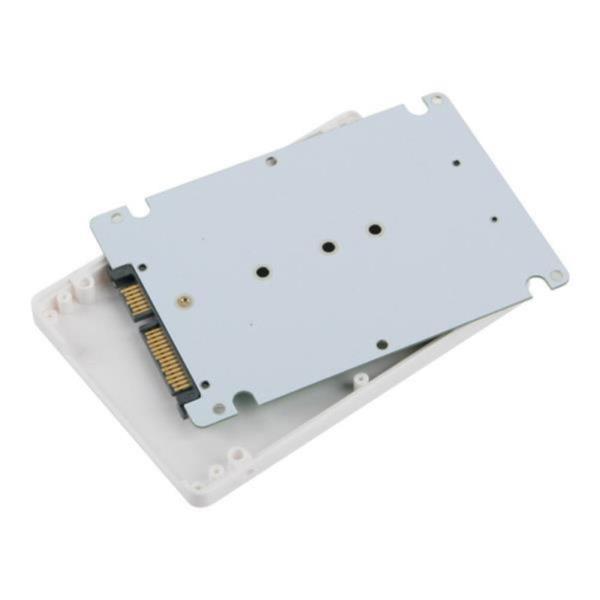 노트북장착 M.2 TO SATA 컨버터 화이트