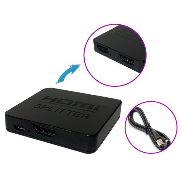 UHD 4K HDMI 1:2 모니터 확장 분배기 멀티