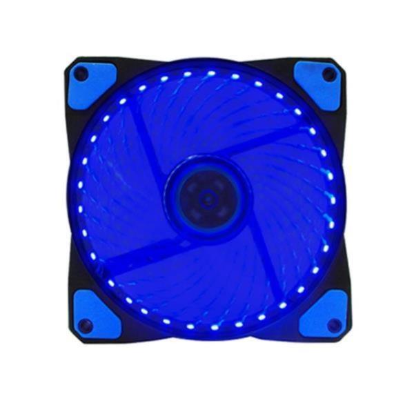 블루 33LED 120mm 쿨링팬 컴퓨터 케이스튜닝 쿨러
