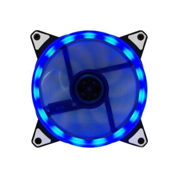 블루 15LED 120mm 쿨링팬 컴퓨터 케이스튜닝 쿨러