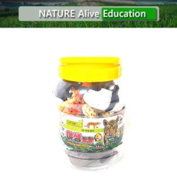야생탐험(중) 자연은살아있다 교육용완구 학습용완구☆
