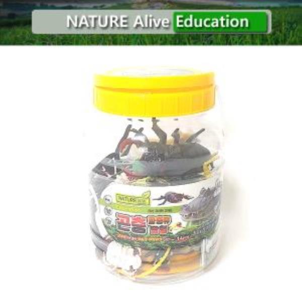곤충파충류탐험(중) 자연은살아있다 학습용완구 교육