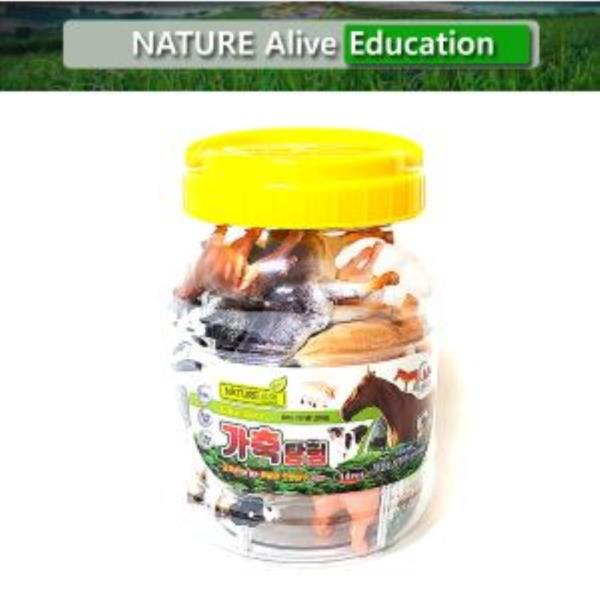 가축탐험(중) 자연은살아있다 학습용완구 교육용완구