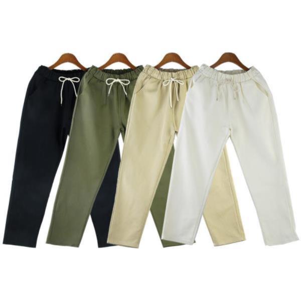 로블레스 커트 배기 팬츠 191070