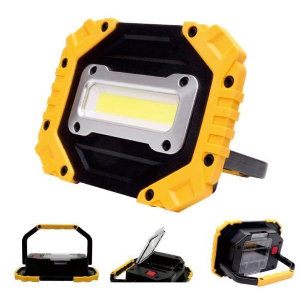 운동취미 초고휘도 COB LED 작업조명 캠핑조명 생활방수