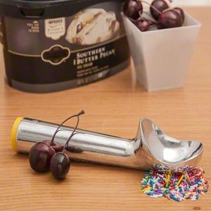 카페테리아 업그레이드 옐로우 아이스크림 디셔(1P)