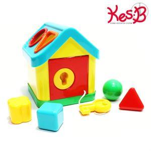 열쇠 블럭도형 하우스 1개