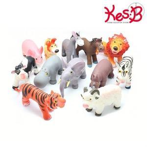 역할놀이교구 Soft동물 12종세트 1개