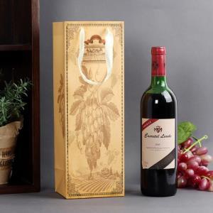 소믈리에 패턴 와인쇼핑백1개(랜덤)