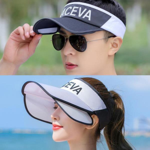 카세바 날개썬캡 자외선차단 골프모자 등산 낚시 모자