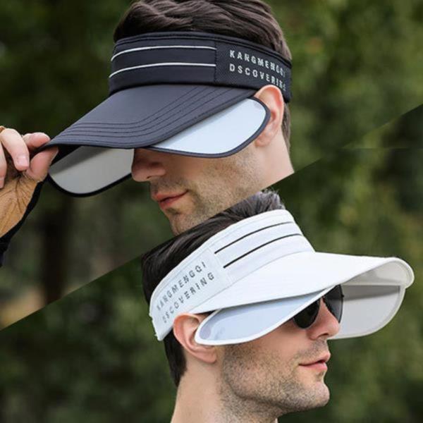 투라인 날개썬캡 자외선차단 골프모자 등산 낚시 모자