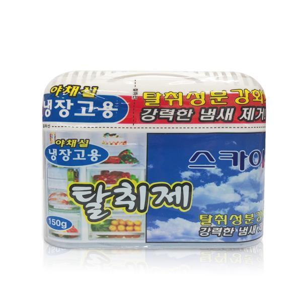 해피룸 냉장고탈취제 150g(스카이향)김치 냄새제거