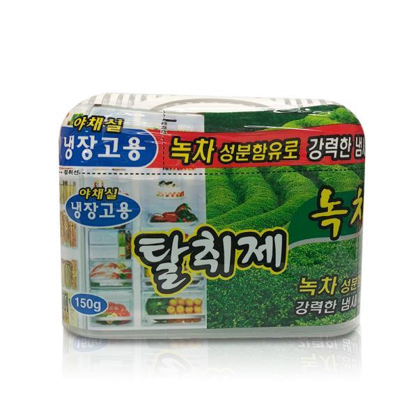 해피룸 냉장고탈취제 150g(녹차성분) 야채실 냄새제거