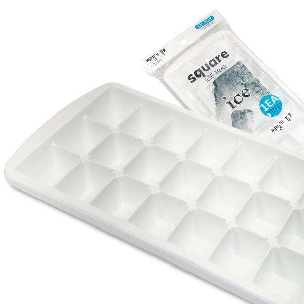 사각형 아이스트레이(제빙기특호21칸)빙수 각얼음 얼