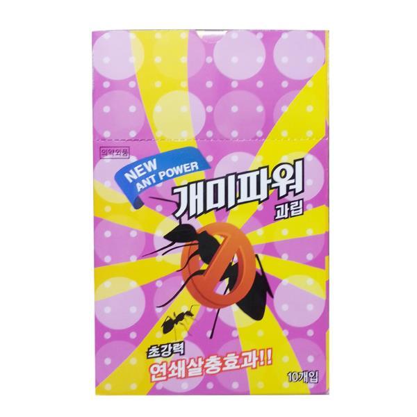 지오스팜 개미파워과립(1g x5p)-10매입 개미제거제