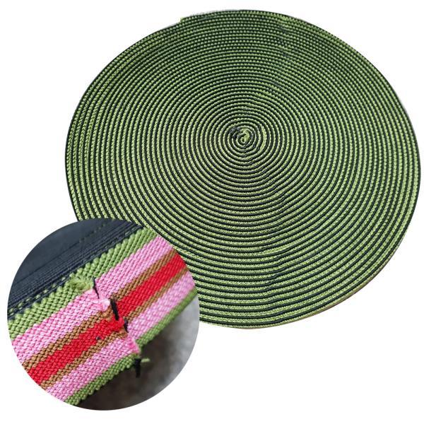 화물차용 짐바 탄력바 25M x 5cm 고무로프 고무바