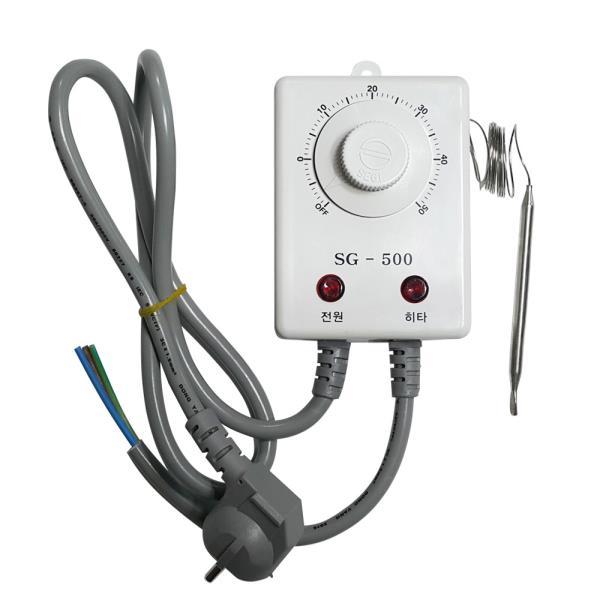 온도조절기 SG-500 센서형 수도동파방지 열선