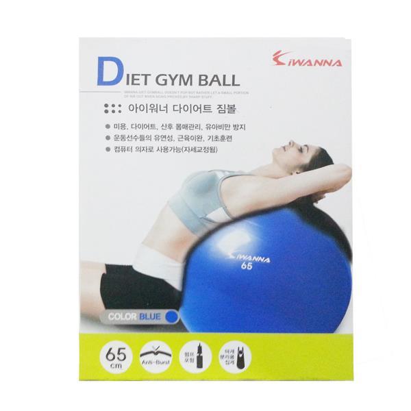케이코 아이워너 다이어트 짐볼(65cm/블루) 운동