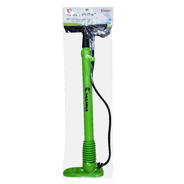 아이워너 자전거펌프(녹색)핸드펌프 에어펌프 공 튜브