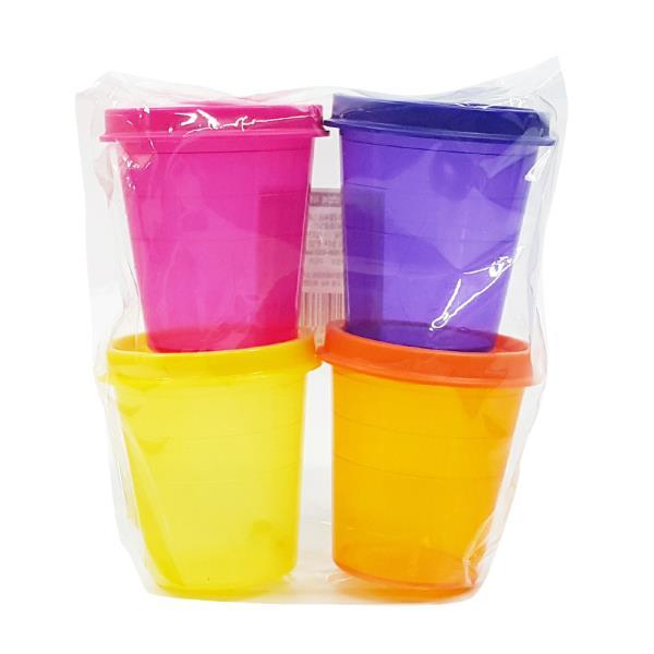 용기 대영 미니밀폐용기60ml 4p 보관 캠핑 조미료 양념통