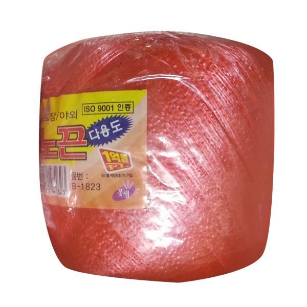 코리아트 고추노끈(레드) B1823포장끈 고추끈 바인더