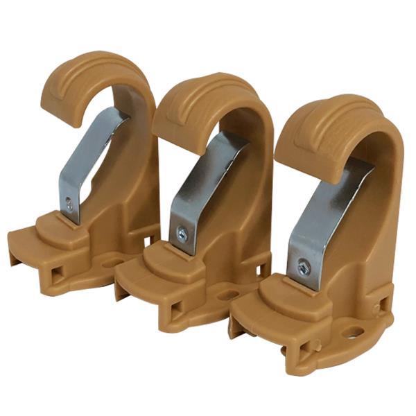 민광 커튼브라켓 25mm K-347 커튼걸이 커튼봉 커텐봉