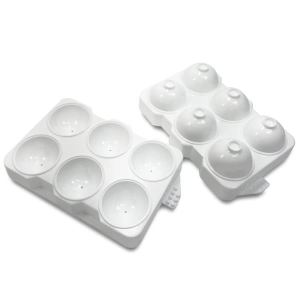 아이스트레이 왕방울 구슬얼음틀6구 원형 아이스트레이 아이스큐브