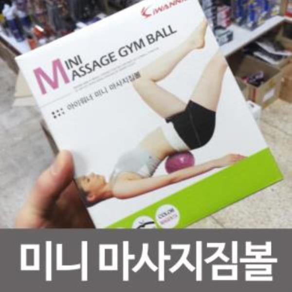 아이워너 미니 마사지짐볼(18cm/마젠타) 짐볼 운동
