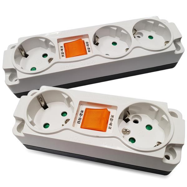 일신 과부하 차단노출(벌크) 2구3구 콘센트 멀티탭