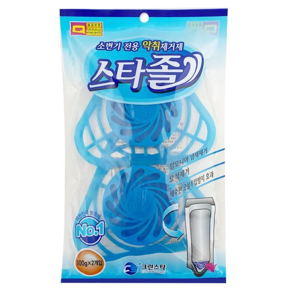 크린스타 소변기전용 악취제거제 스타졸(2p) 청소