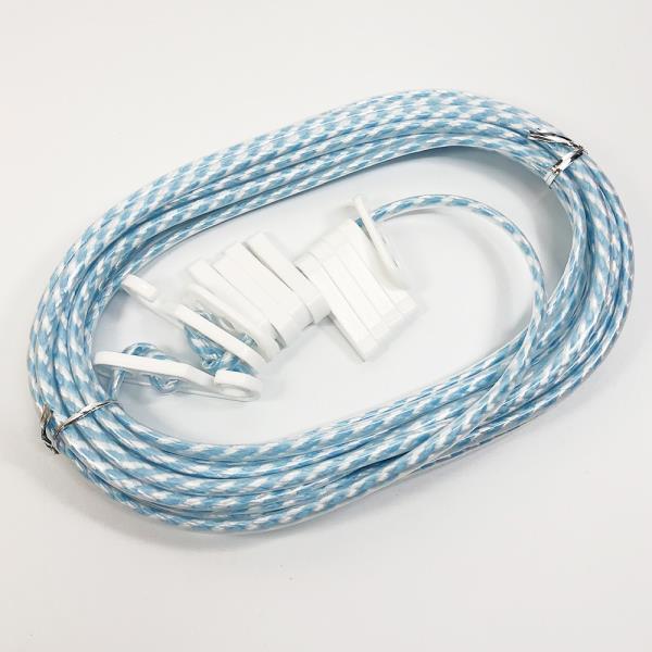 민광 코팅빨래줄8M k-358  베란다 건조대 빨래끈 로프