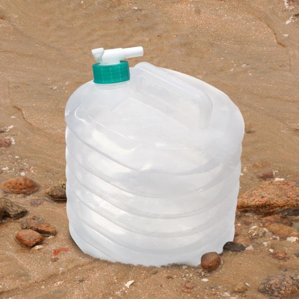 삼정 하마 자바라물통(10L)약수물통 접이식 워터백