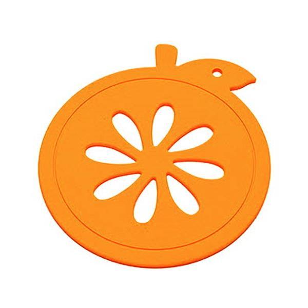 대성 실리콘 오렌지 냄비받침 16cm