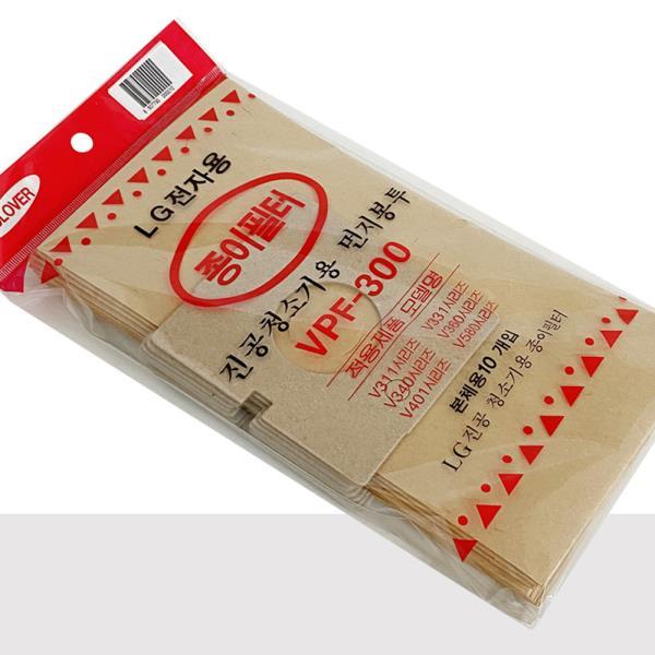 엘지 먼지봉투10p(VPF-300) 진공청소기용 종이필터