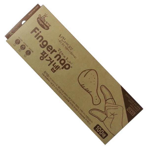 손가락위생장갑 가온에이스 핑거넵 100매 손가락 위생장갑 핑거냅