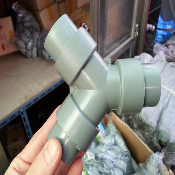 38mm(대)씽크대 배수호스 연결구 일자/Y자형 배수관