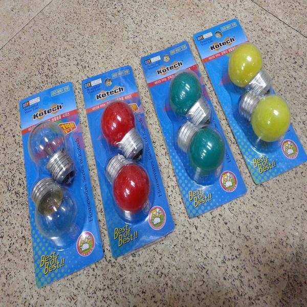 인찌구(2p) 전구/램프/조명/취침등/색깔등/무드등