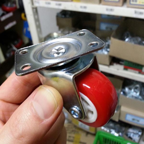 [우레탄바퀴1.5인치 선택]캐스터바퀴/대차/운반카트
