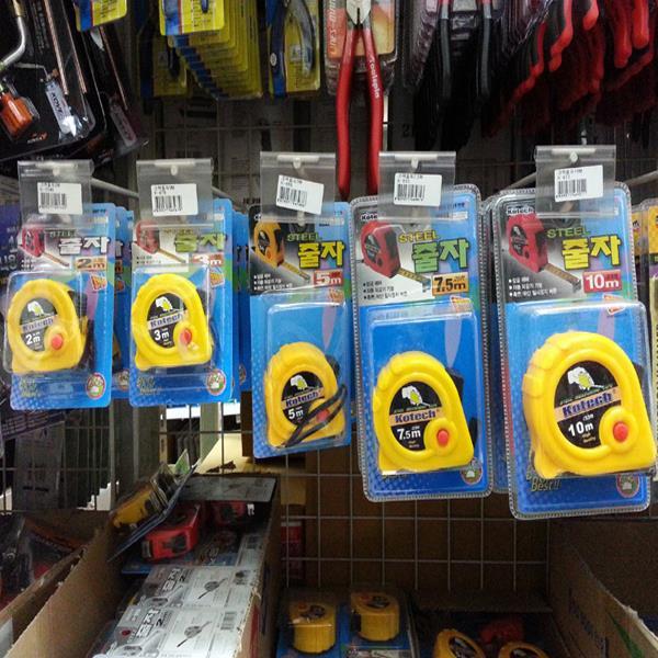 코텍 줄자5m K-686/줄자모음/자/스텐줄자/휴대용줄자